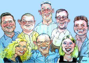 Caricaturist for parties south wales