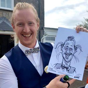 Wedding Caricaturist Wales